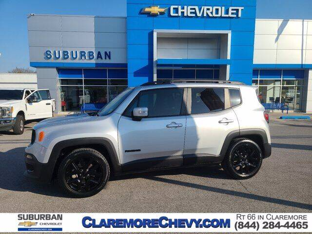 2017 Jeep Renegade for sale at Suburban Chevrolet in Claremore OK
