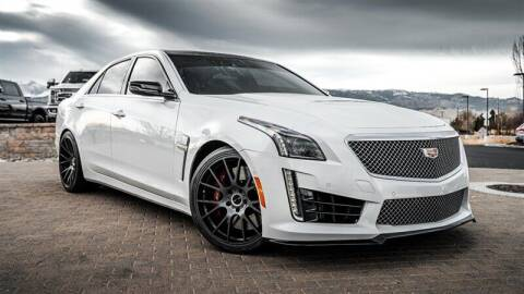 2018 Cadillac CTS-V for sale at MUSCLE MOTORS AUTO SALES INC in Reno NV