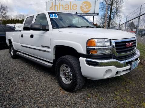 2006 GMC Sierra 2500HD for sale at Universal Auto Sales in Salem OR
