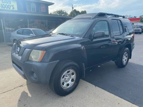 2006 Nissan Xterra for sale at Wise Investments Auto Sales in Sellersburg IN