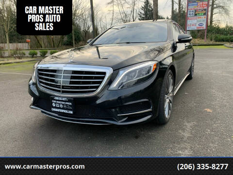 2014 Mercedes-Benz S-Class for sale at CAR MASTER PROS AUTO SALES in Lynnwood WA