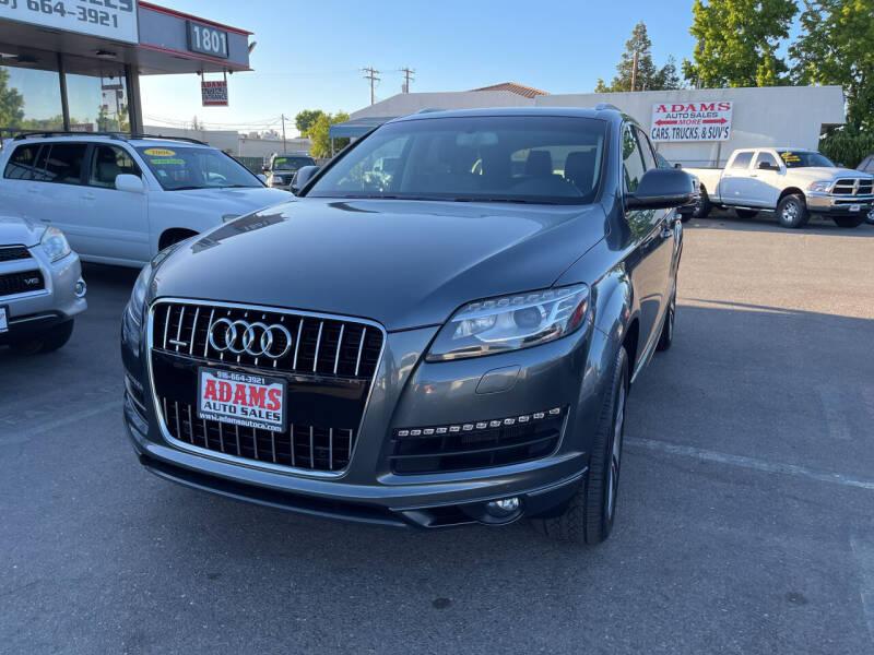 2014 Audi Q7 for sale at Adams Auto Sales in Sacramento CA