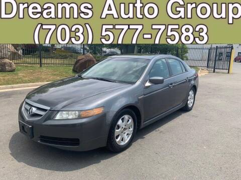 2006 Acura TL for sale at Dreams Auto Group LLC in Sterling VA
