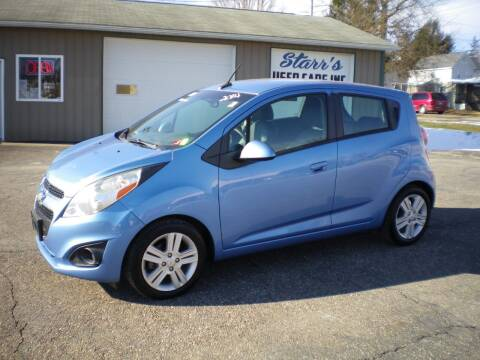 2014 Chevrolet Spark for sale at Starrs Used Cars Inc in Barnesville OH