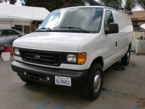 2006 Ford E-Series Cargo for sale at Williams Auto Mart Inc in Pacoima CA
