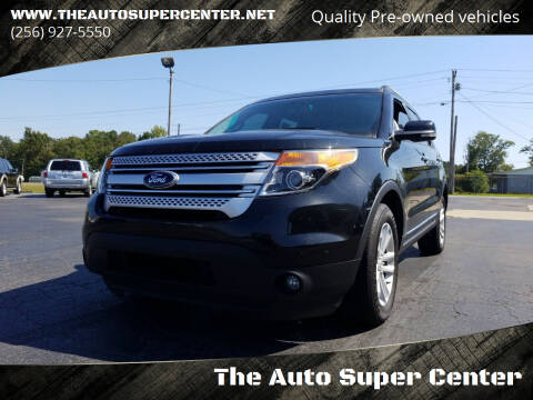 2015 Ford Explorer for sale at The Auto Super Center in Centre AL