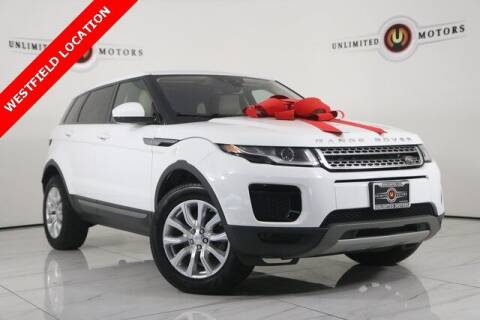 2018 Land Rover Range Rover Evoque for sale at INDY'S UNLIMITED MOTORS - UNLIMITED MOTORS in Westfield IN