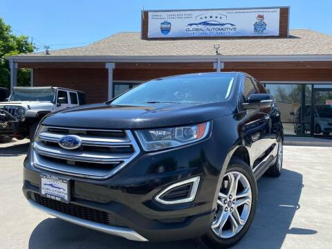 2017 Ford Edge for sale at Global Automotive Imports in Denver CO