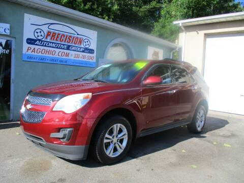 2012 Chevrolet Equinox for sale at Precision Automotive Group in Youngstown OH
