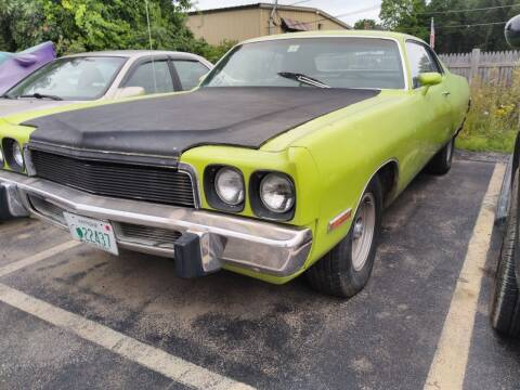 1973 Plymouth fury 3 for sale at Plaistow Auto Group in Plaistow NH