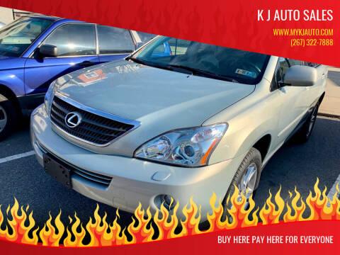 2006 Lexus RX 400h for sale at K J AUTO SALES in Philadelphia PA