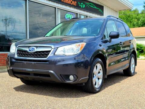 2014 Subaru Forester for sale at Green Cars Vermont in Montpelier VT