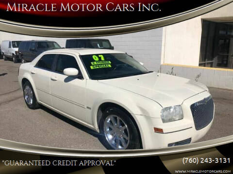 2007 Chrysler 300 for sale at Miracle Motor Cars Inc. in Victorville CA