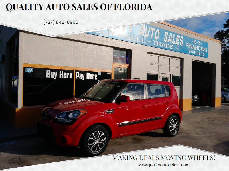 2013 Kia Soul for sale at QUALITY AUTO SALES OF FLORIDA in New Port Richey FL