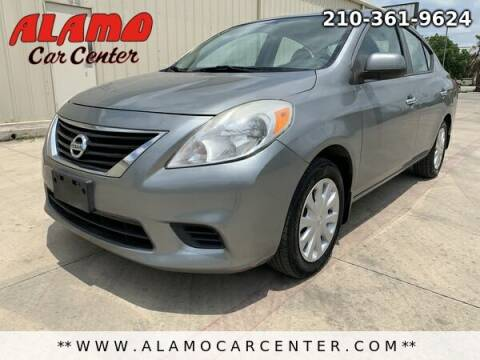 2013 Nissan Versa for sale at Alamo Car Center in San Antonio TX