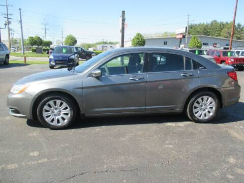 2013 Chrysler 200 for sale at Home Street Auto Sales in Mishawaka IN