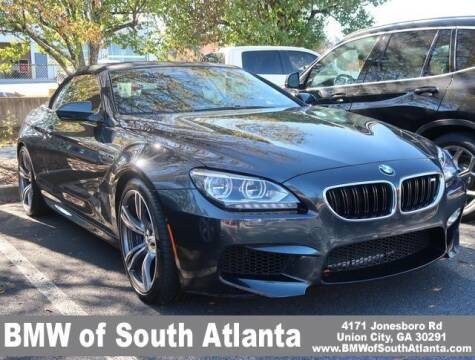 2015 BMW M6 for sale at Carol Benner @ BMW of South Atlanta in Union City GA