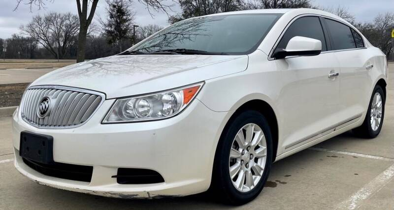 2012 Buick LaCrosse for sale at Driveline Auto Solution, LLC in Wylie TX