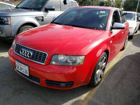 2005 Audi S4 for sale at MCHENRY AUTO SALES in Modesto CA