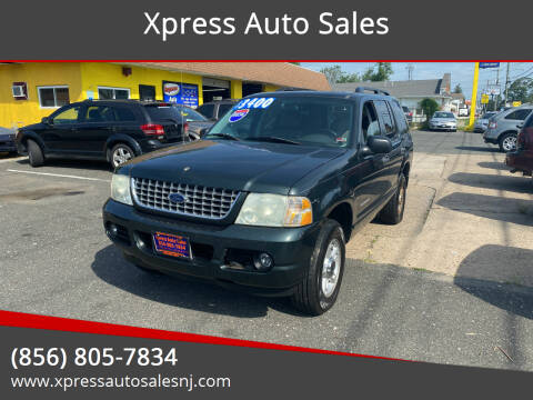 2004 Ford Explorer for sale at Xpress Auto Sales in Laurel Springs NJ