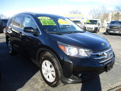 2014 Honda CR-V for sale at AUTO FACTORY INC in East Providence RI