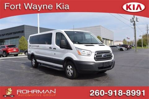 2018 Ford Transit Passenger for sale at BOB ROHRMAN FORT WAYNE TOYOTA in Fort Wayne IN