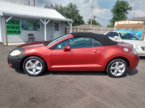 2008 Mitsubishi Eclipse Spyder for sale at Auto Pro Inc in Fort Wayne IN