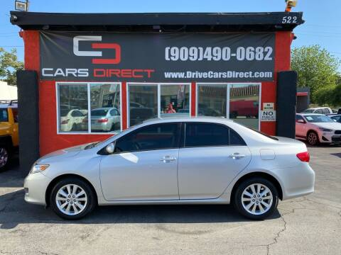 2010 Toyota Corolla for sale at Cars Direct in Ontario CA
