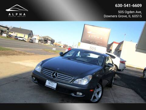 2006 Mercedes-Benz CLS for sale at Alpha Luxury Motors in Downers Grove IL