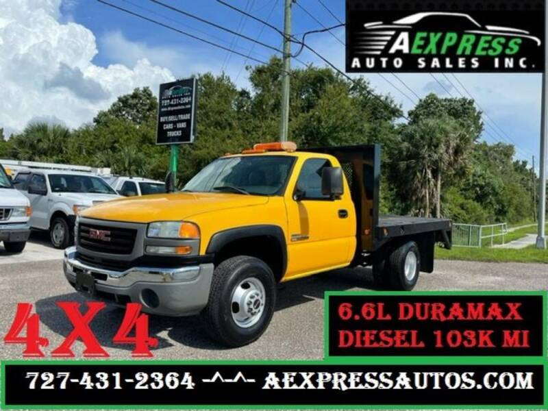 2005 GMC Sierra 3500 for sale at A EXPRESS AUTO SALES INC in Tarpon Springs FL