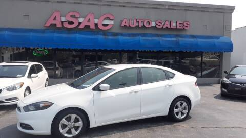 2016 Dodge Dart for sale at ASAC Auto Sales in Clarksville TN