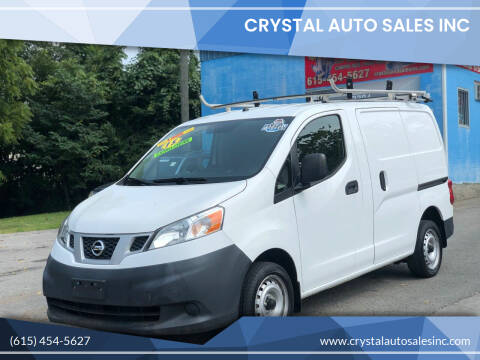 2015 Nissan NV200 for sale at Crystal Auto Sales Inc in Nashville TN