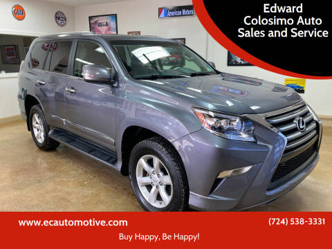 2018 Lexus GX 460 for sale at Edward Colosimo Auto Sales and Service in Evans City PA