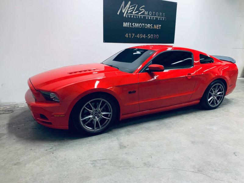 2014 Ford Mustang for sale at Mel's Motors in Nixa MO