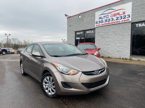 2011 Hyundai Elantra for sale at Auto Deals in Roselle IL