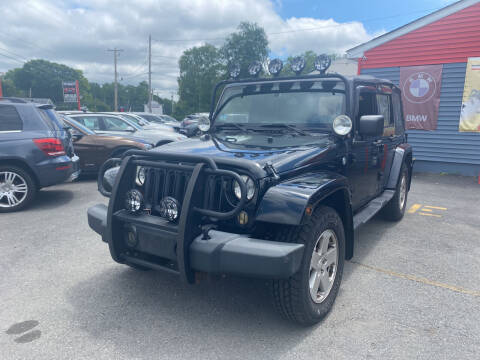 2007 Jeep Wrangler Unlimited for sale at Top Quality Auto Sales in Westport MA