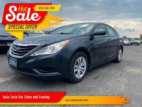 2012 Hyundai Sonata for sale at Auto Tech Car Sales and Leasing in Saint Paul MN