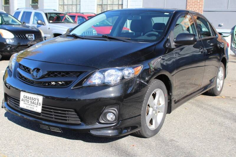 2011 Toyota Corolla for sale at Grasso's Auto Sales in Providence RI