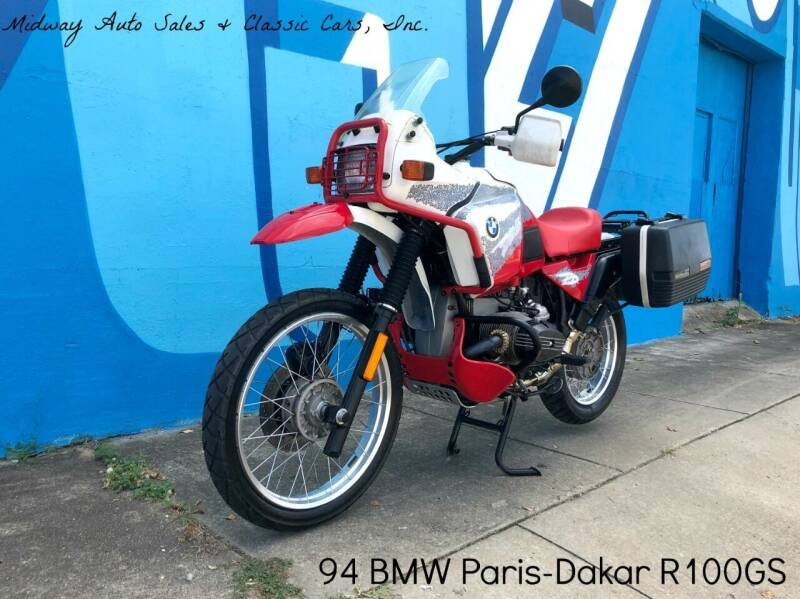 1994 BMW Paris-Dakar R100GS for sale at MIDWAY AUTO SALES & CLASSIC CARS INC in Fort Smith AR