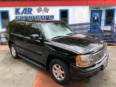 2005 GMC Yukon for sale at Kar Connection in Miami FL