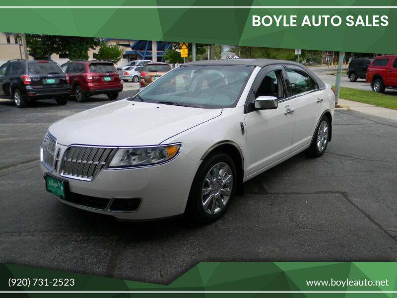 2010 Lincoln MKZ for sale at Boyle Auto Sales in Appleton WI