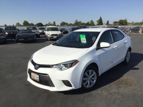 2015 Toyota Corolla for sale at My Three Sons Auto Sales in Sacramento CA