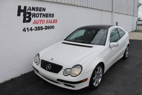 2002 Mercedes-Benz C-Class for sale at HANSEN BROTHERS AUTO SALES in Milwaukee WI
