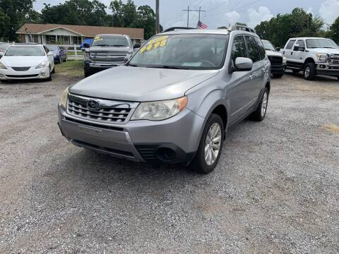 2011 Subaru Forester for sale at THE COLISEUM MOTORS in Pensacola FL