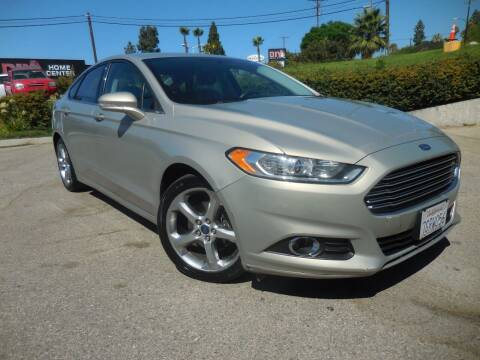 2015 Ford Fusion for sale at ARAX AUTO SALES in Tujunga CA