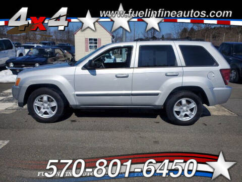 2007 Jeep Grand Cherokee for sale at FUELIN FINE AUTO SALES INC in Saylorsburg PA