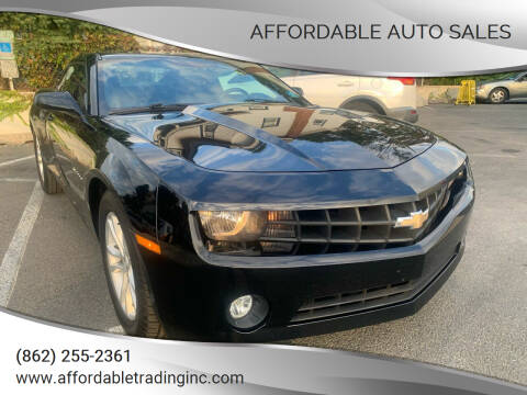 2013 Chevrolet Camaro for sale at Affordable Auto Sales in Irvington NJ