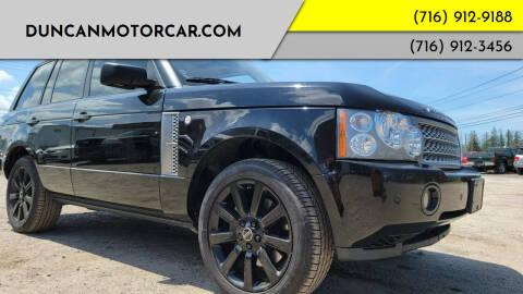 2008 Land Rover Range Rover for sale at DuncanMotorcar.com in Buffalo NY