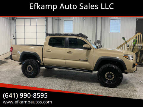 2017 Toyota Tacoma for sale at Efkamp Auto Sales LLC in Des Moines IA