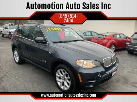 2013 BMW X5 for sale at Automotion Auto Sales Inc in Kingston NY